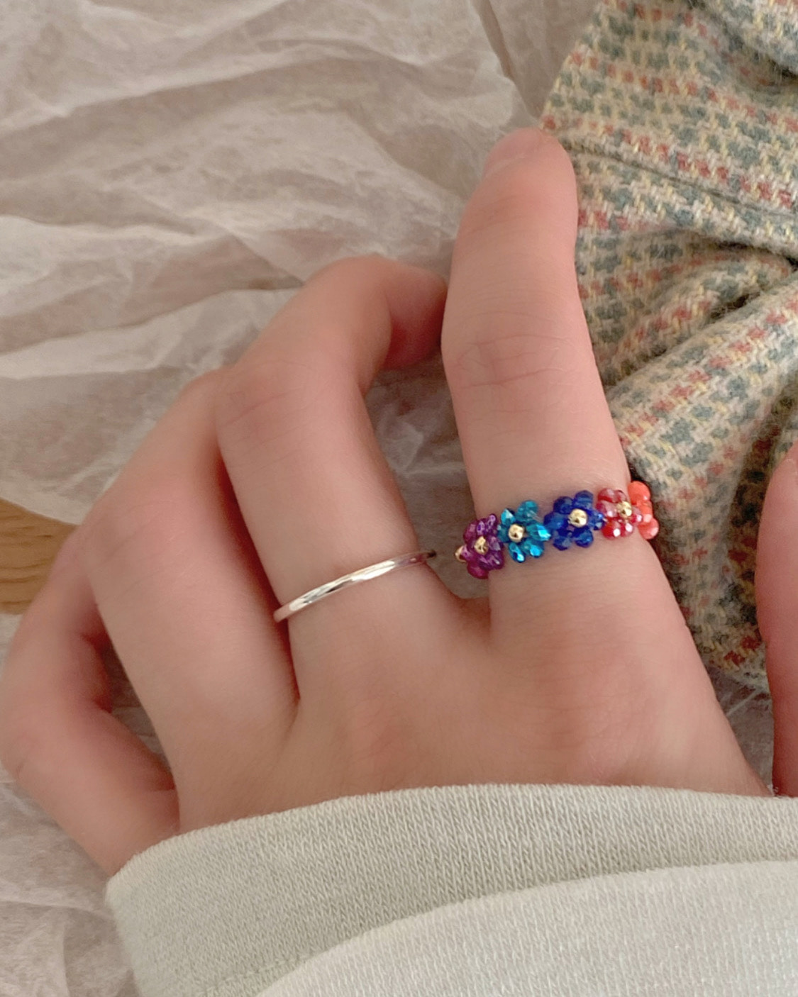 love me beads ring